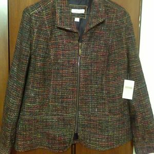 Coldwater Creek boucle jacket